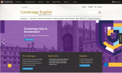 Cambridge Day – Amsterdam