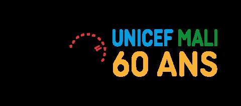 Logotype 60 ans Unicef Mali