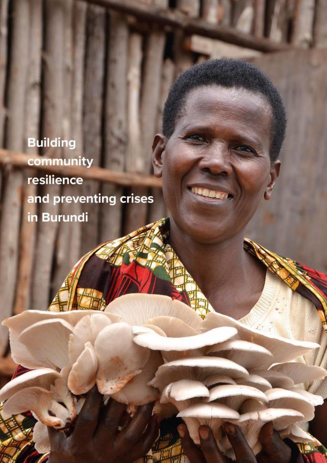 Renforcer la résilience au niveau communautaire – Burundi